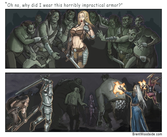 Female Fantasy Armor